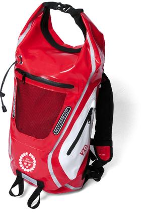 Vattentät ryggsäck 20 L, röd,lime,blå